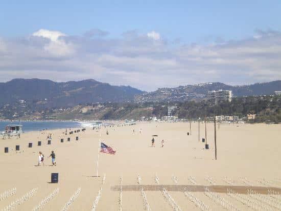 Santa Monica Beach Camp