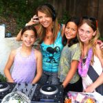 Have a real DJ set up and large sound system at your party! <br/>($450 w/ a Funky Divas party, <br/>$550 for DJ only)
