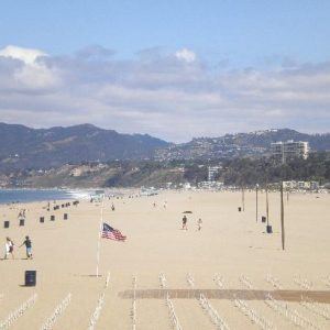 Santa Monica Beach Camp